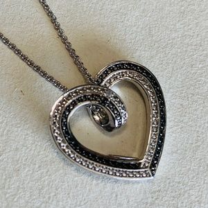 Jewelry - Diamond Accent Heart Necklace
